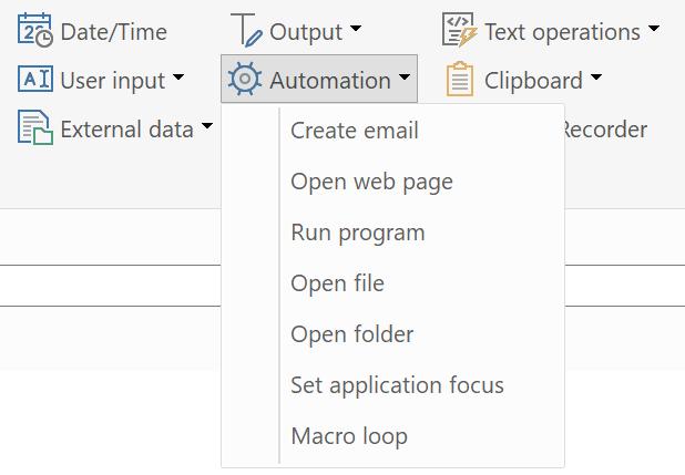 Top Five Open Csv File Macro - Circus
