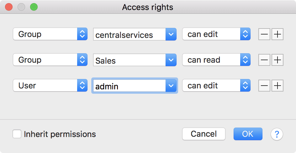 snippet access restriction screenshot