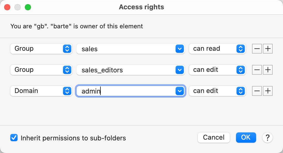 PhraseExpress - Access restriction